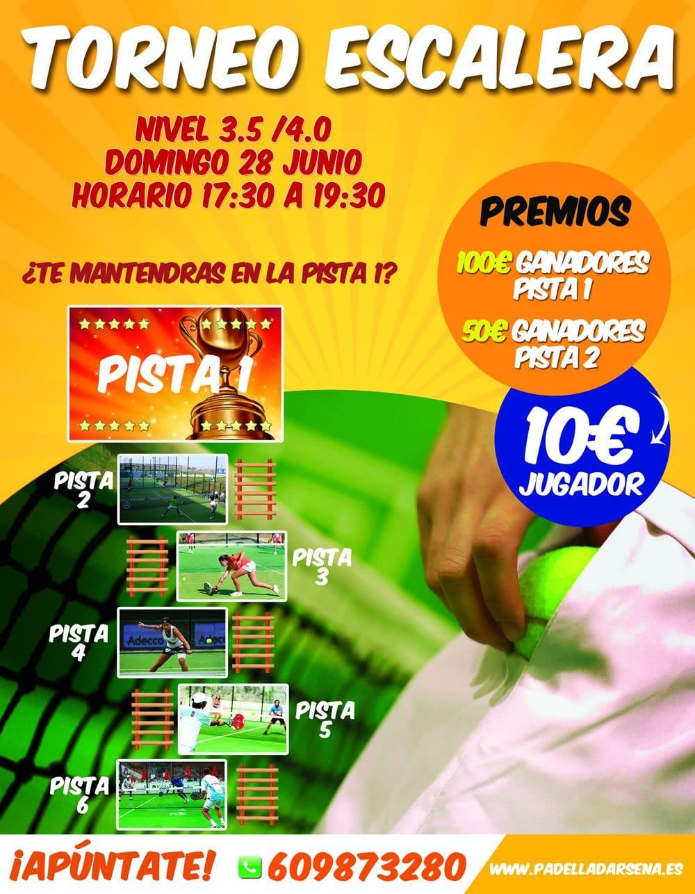 Flyer Torneo de Pádel